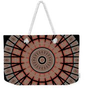Window Mosaic - Mandala - Transparent Weekender Tote Bag