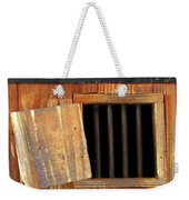 Window Of Darkness Weekender Tote Bag