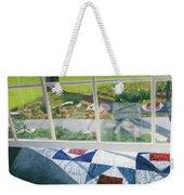Window On Spring Weekender Tote Bag