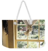 Window On Yesterday Weekender Tote Bag