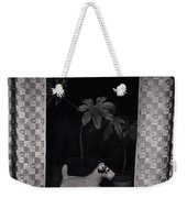 Window Scene Weekender Tote Bag