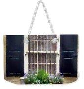 Window Shutters And Flowers II Weekender Tote Bag