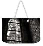 Window To Mont St Michel Weekender Tote Bag by Dave Bowman