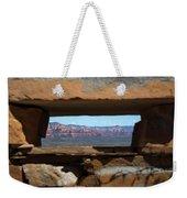 Window To Sedona Weekender Tote Bag