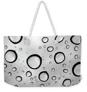 Window Waterdrops B Weekender Tote Bag