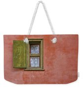 Window With A Lace Curtain Weekender Tote Bag