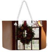 Window Wreath Weekender Tote Bag