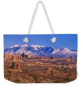Windows Section, Arches National Park Weekender Tote Bag