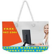Windows Support To Remove System Error Codes Weekender Tote Bag