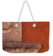 Windowsill And Orange Wall San Miguel De Allende Weekender Tote Bag