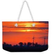 Windpower Sunrise Weekender Tote Bag