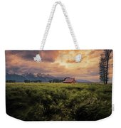 Windstorm On The Prairie Weekender Tote Bag