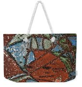Windstorm Tile Weekender Tote Bag