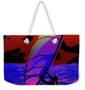 Windsurfer Weekender Tote Bag by Brian Roscorla