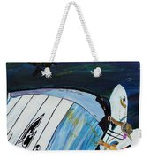 Windsurfing And Sea Turtle Weekender Tote Bag