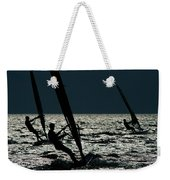 Windsurfing At Cape Hatteras National Weekender Tote Bag