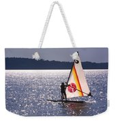 Windsurfing Lake Champlain Weekender Tote Bag