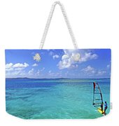 Windsurfing The Islands Weekender Tote Bag