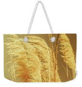 Windswept Autumn Brush Grass Weekender Tote Bag