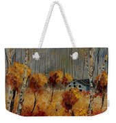 Windy Autumn Landscape  Weekender Tote Bag