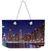 Windy City Lakefront Weekender Tote Bag