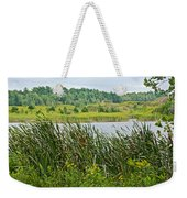 Windy Day In Campground In Saginaw-minnesota Weekender Tote Bag