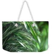 Windy Fractal Field Weekender Tote Bag