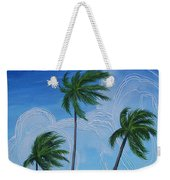 Windy Palms Weekender Tote Bag