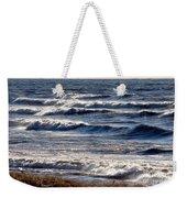 Windy Spring Lake Huron Weekender Tote Bag