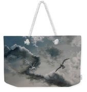 Windy Weather Weekender Tote Bag by Diane Kraudelt
