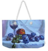 Wine And Fresh Fruits Weekender Tote Bag