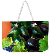 Wine And Grapes Full Circle Weekender Tote Bag