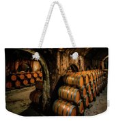 Wine Barrels At Stone Hill Winery_7r2_dsc0318_16-08-18 Weekender Tote Bag