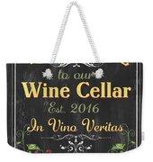 Wine Cellar Sign 1 Weekender Tote Bag
