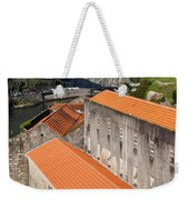 Wine Cellars In Vila Nova De Gaia By The Douro River Weekender Tote Bag