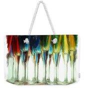 Wine Flutes Weekender Tote Bag