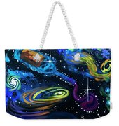 Wine Galaxy Weekender Tote Bag