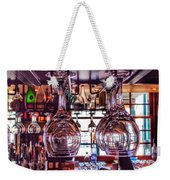 Wine Glasses, Empty Weekender Tote Bag