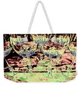 Wine Glasses Weekender Tote Bag
