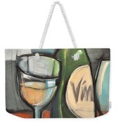 Wine Is Bottled Poetry Weekender Tote Bag