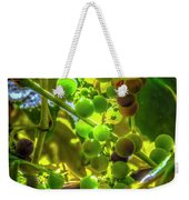 Wine On The Vine Weekender Tote Bag