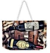Wine Rack Weekender Tote Bag