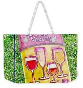 Wine Sign Weekender Tote Bag