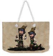 Wine Time For The Leprechauns  Weekender Tote Bag