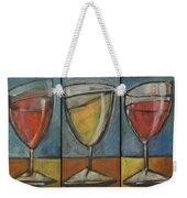 Wine Trio - Option One Weekender Tote Bag