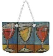Wine Trio Option 2 Weekender Tote Bag