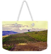 Wine Vineyard In Sicily Weekender Tote Bag