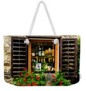 Wine Window Weekender Tote Bag