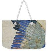 Wing Of A Blue Roller Weekender Tote Bag