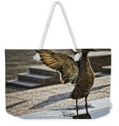 Winged Bird Weekender Tote Bag